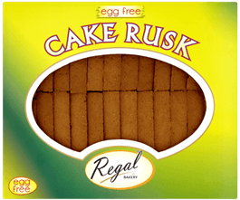 Cake Rusk Egg Free 28 pcs (Regal)