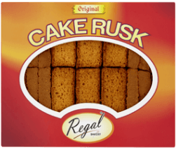 Cake Rusk Original 18 pcs (Regal)