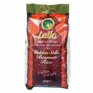 Laila Sella Basmati Rice 5kg