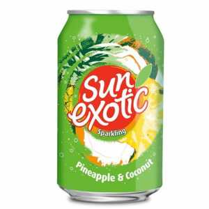 Pineapple & Coconut 330ml (Sun Exotic)