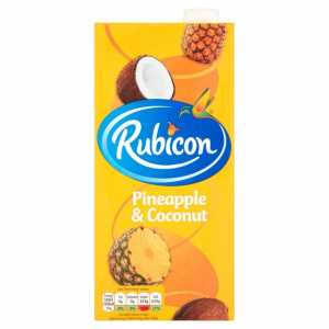 Pineapple & Coconut Juice 1L (Rubicon)