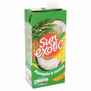 Pineapple & Coconut Juice 1L (Sun Exotic)