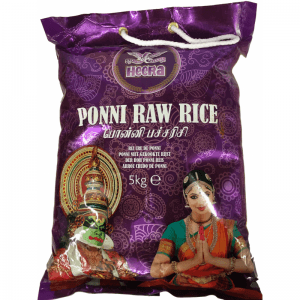 Ponni Raw Rice Heera 5kg