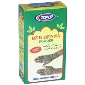 Red Heena Mehndi 100g (Top Op)
