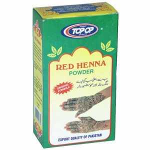 Red Heena Mehndi 100g (Top Op)