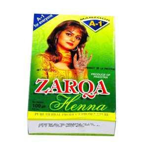 Zarqa Mehndi Red 100g