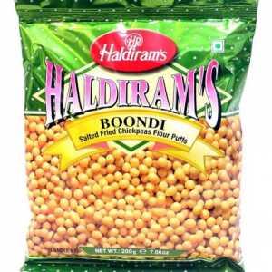 Boondi Plain Namkeen 200g Haldirams