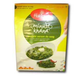 Ready to Eat Sarson Ka Saag 300g Haldiram