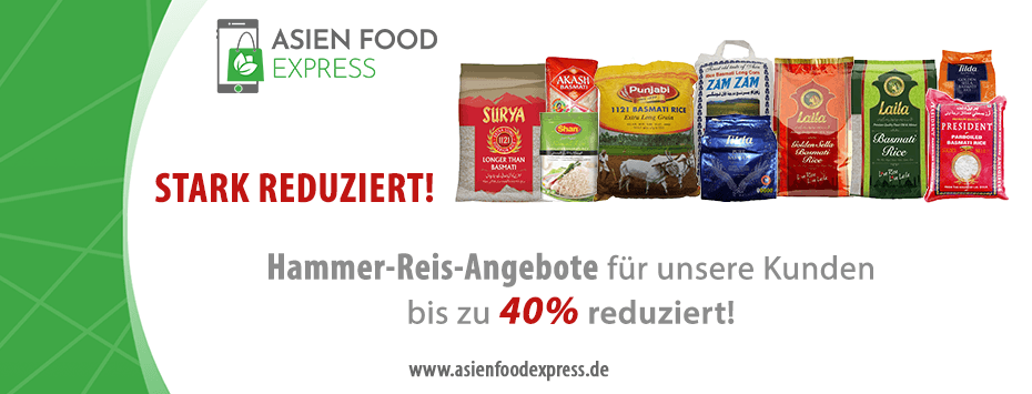 Reis Angebot Asien Food Express