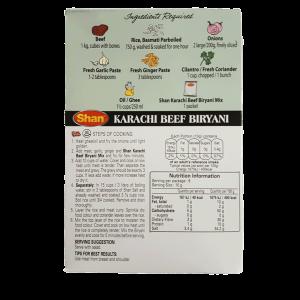 Shaan Karachi Beef Biryani 60g