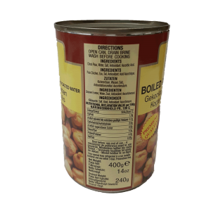 TRS Boiled Chick Peas 400g (White Chana)