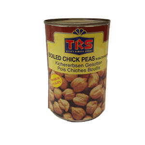 TRS Boiled Chick Peas 400g (White Chana)